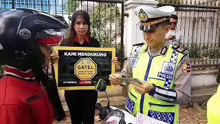 Ingat Fungsi Trotoar Bersama Kampanye GATEL
