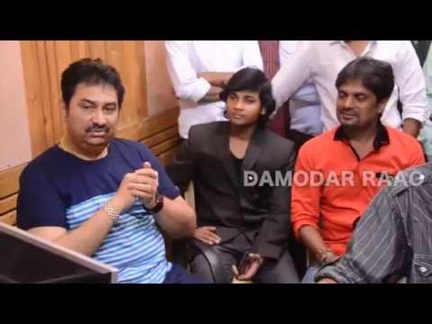 Kumar SANU & Damodar Raao Bhojpuri 'Padal Ba Bhari Chhora Bihari' Recording