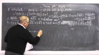 1/2 Lectia 477 - Rezolvam testul din gazeta matematica dat la clasa si Tema pentru acasa - Clasa 4