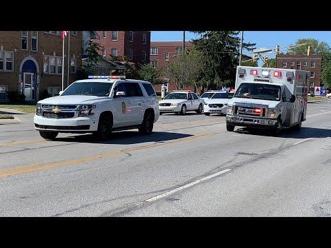 Scene Of Shooting At 4500 Block Of East Pleasant Run Parkway North Drive