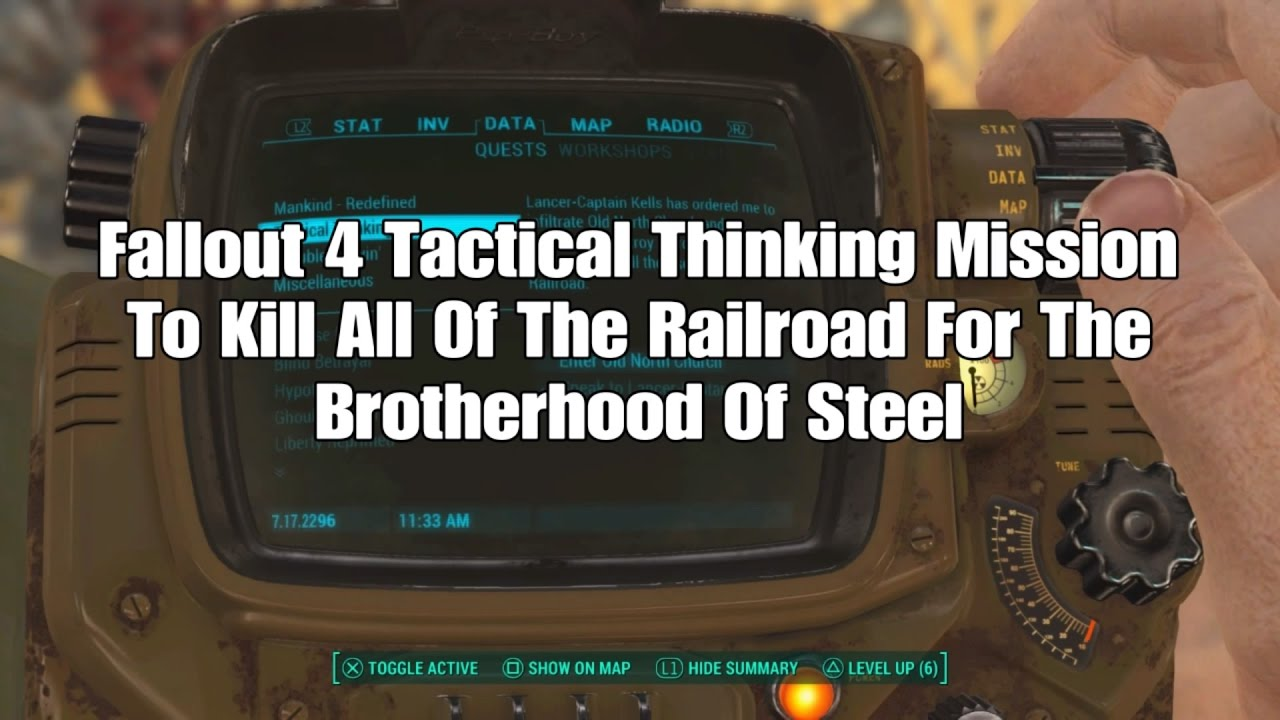 fallout 4 how to kill the railroad