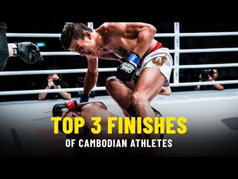 Top 3 Finishes By Cambodian Athletes | ONE Highlights