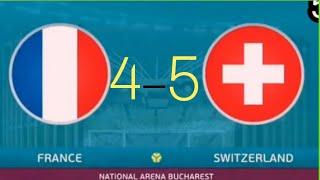 #فرنسا_سويسرا_ ملخص _مبارة فرنسا_ وسويسرا  _ ركلات الترجيح_ France and Switzerland Euro 2021
