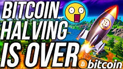 BITCOIN HALVING COMPLETE! WHAT COMES NEXT FOR BITCOIN?! BTC CRYPTO NEWS