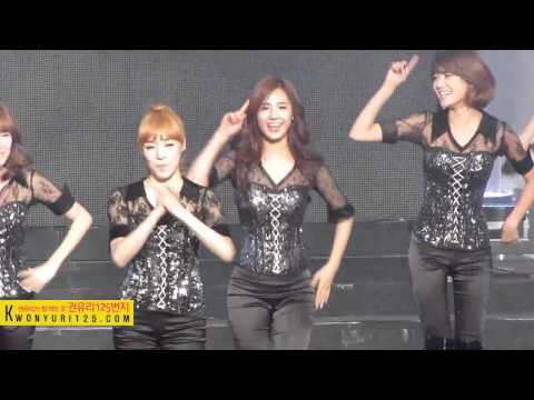 [SNSD] Kwon Yuri's Kkabness Unleashed during a live performance