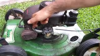 Adaptação do carburador na roçadeira trapp