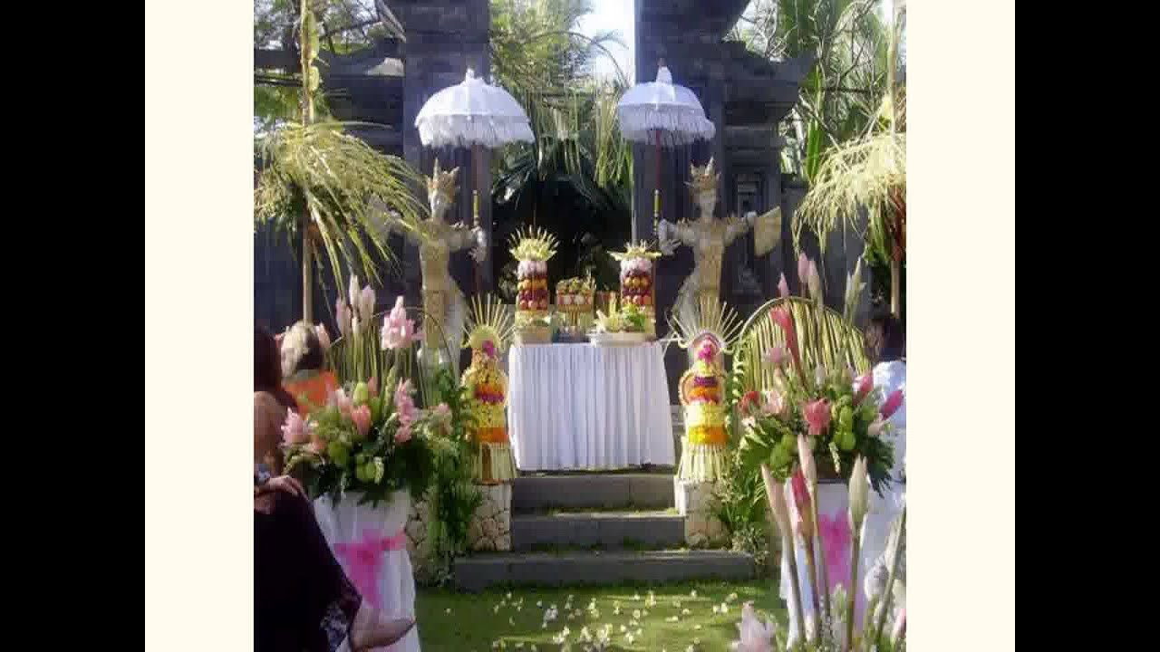 Balinese decorating ideas for Balinese decoration