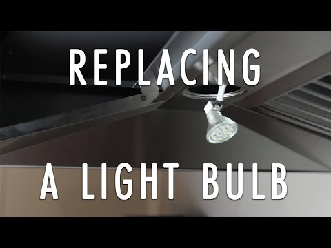 How to Change a Range Hood's Light Bulb in a ZLINE Range Hood