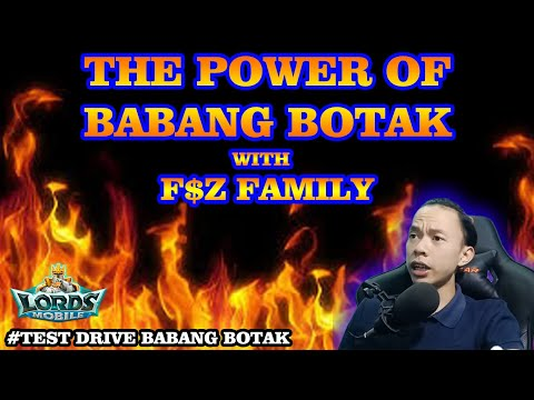 BABANG BOTAK BERSAMA F$Z FAMILY RUSUH | LORDS MOBILE INDONESIA
