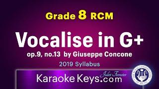 RCM - Vocalise in G Major - Grade 8 Voice