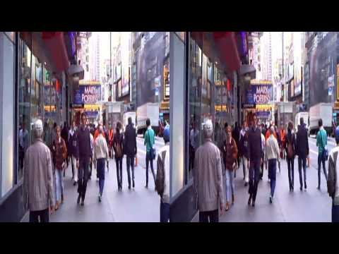 3D Manhattan - Time Square