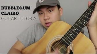 Bubblegum by Clairo | Guitar tutorial