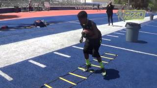 RUN 2 DAYLIGHT RUNNING BACK DRILLS JONES BOYS