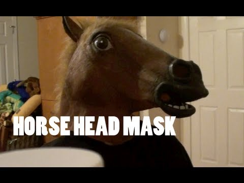 Things you can do with a horse head mask youtube for What can you make out of horseshoes