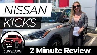 2019 Nissan Kicks - 2 Minute Review - SUVS.com