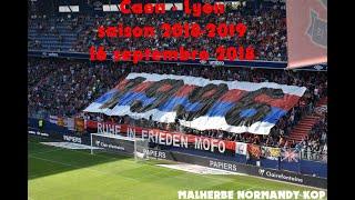 Ambiance Caen - Lyon 2018-2019