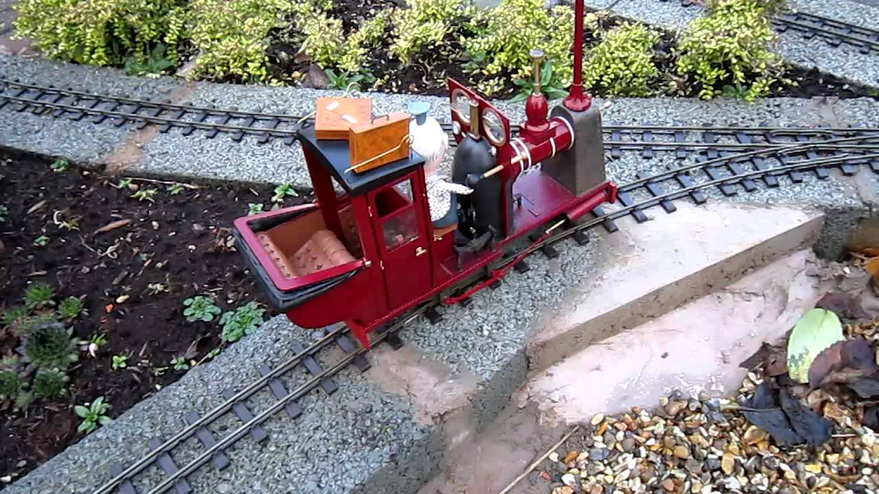 Peter Butler S Model Of Rowland Emett S Rail Taxi Youtube