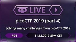 #94: picoCTF 2019 (part 4)
