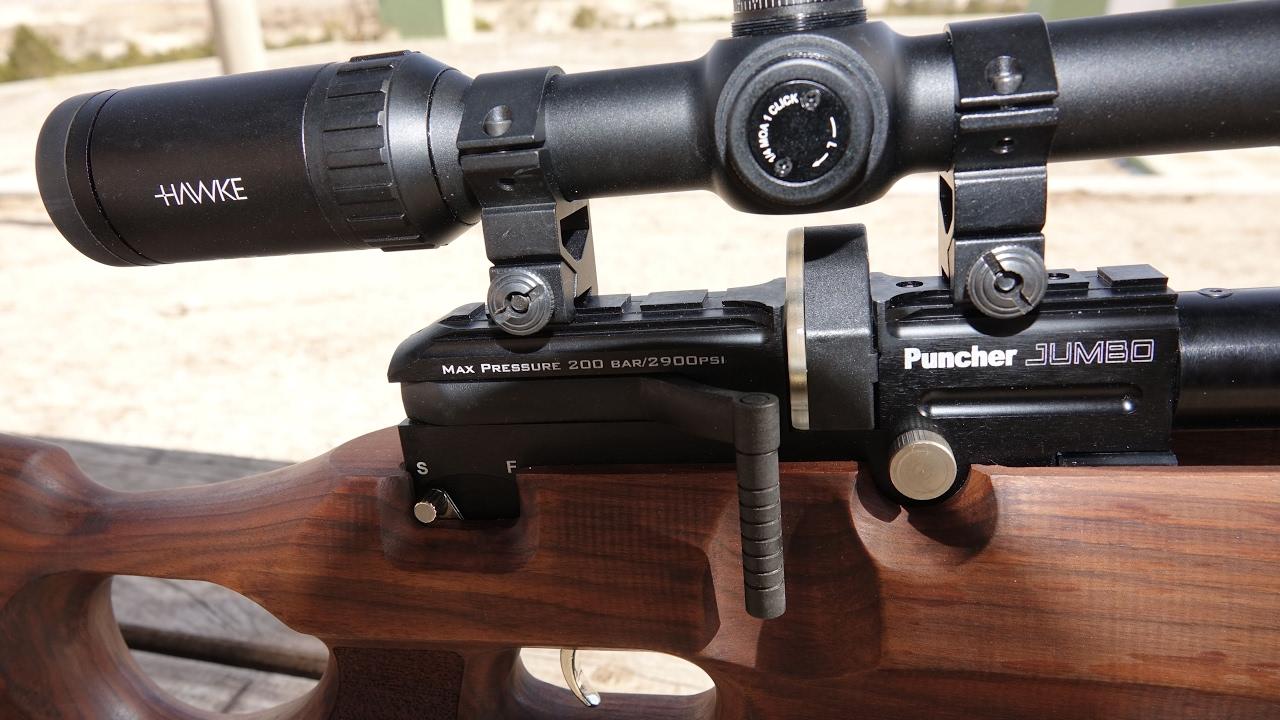 Kral Puncher Jumbo 5 5mm PCP Grupman Atışları