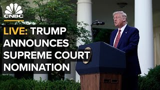 WATCH LIVE: Trump announces Supreme Court nomination to replace Ruth Bader Ginsburg — 9/26/2020