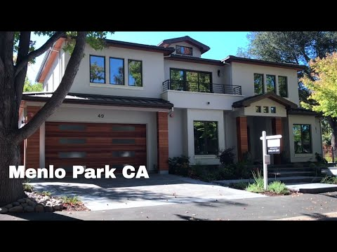🔴  Menlo Park Driving Tour 1080P