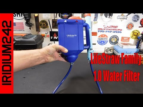 The LifeStraw Family 1 0 Water Filter
