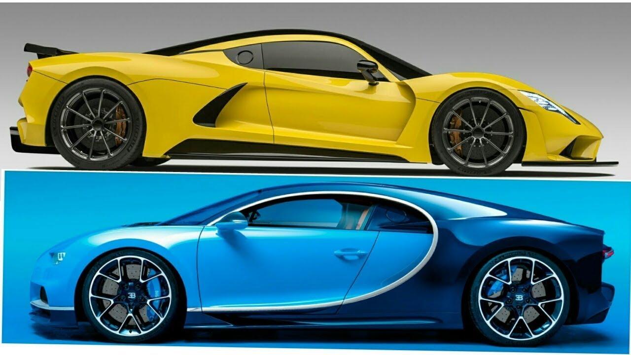 Venom Gt 2017 >> Bugatti Chiron Vs Hennessey Venom Gt 2017 Youtube