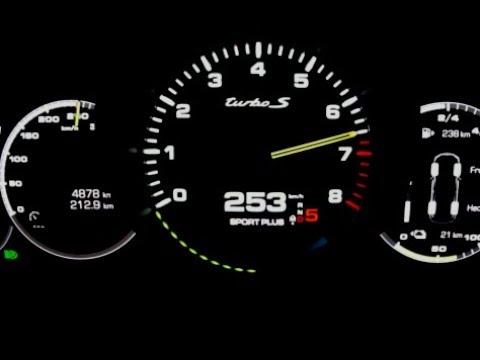 2020 Porsche Cayenne Turbo S E-Hybrid 680 HP Acceleration 0-250 Km/h