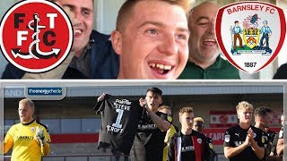 Video Fleetwood Town 1 Barnsley 3 | Fantastic Win!! | Matchday Vlog#11 download MP3, 3GP, MP4, WEBM, AVI, FLV Oktober 2018