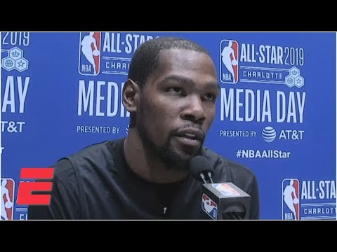 Paul George & Russell Westbrook have nice synergy on OKC Thunder – Kevin Durant | NBA All-Star 2019