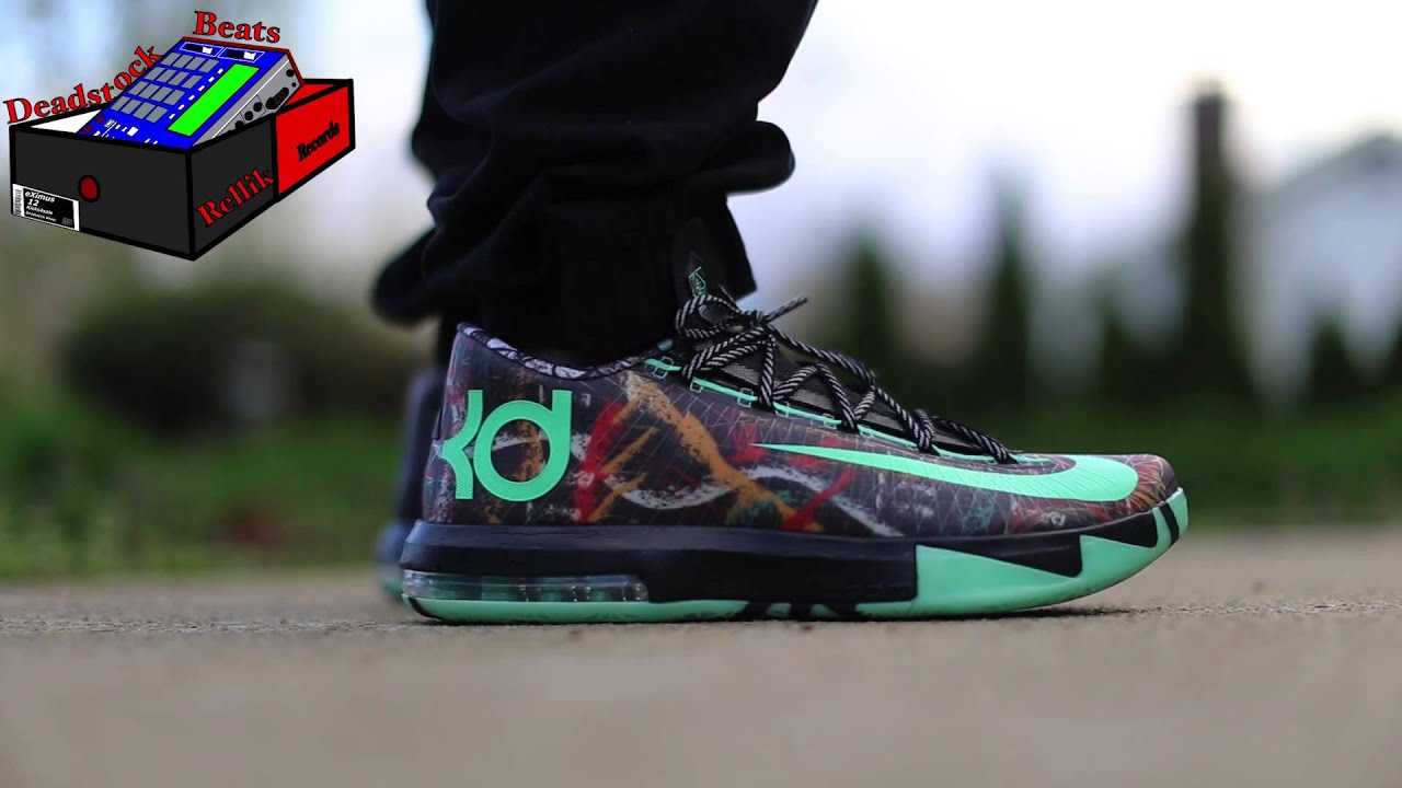Nike KD 6 All Star Illusion On Feet April 20, 2015 - YouTube