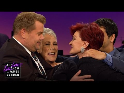 Touchy Feely Couch w Sharon Osbourne, Elyes Gabel & Jamie Lee Curtis