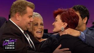 Touchy Feely Couch w/ Sharon Osbourne, Elyes Gabel & Jamie Lee Curtis
