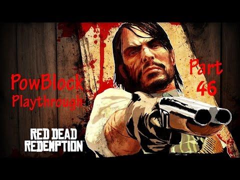 Red Dead Redemption Playthrough pt46 - Brutal War At Dutch's Hideout!