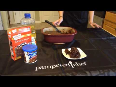 Pampered Chef Lava Cake Recipe