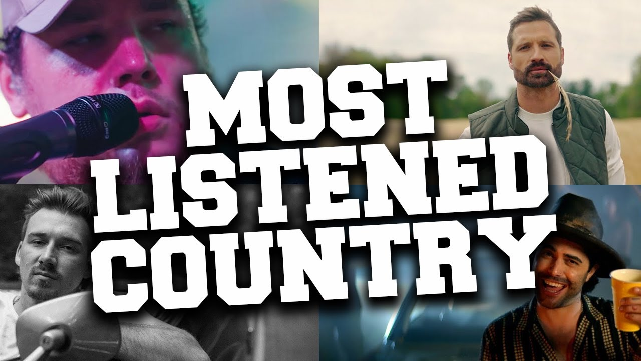 Top 100 Most Listened Country Songs in 2021 - July