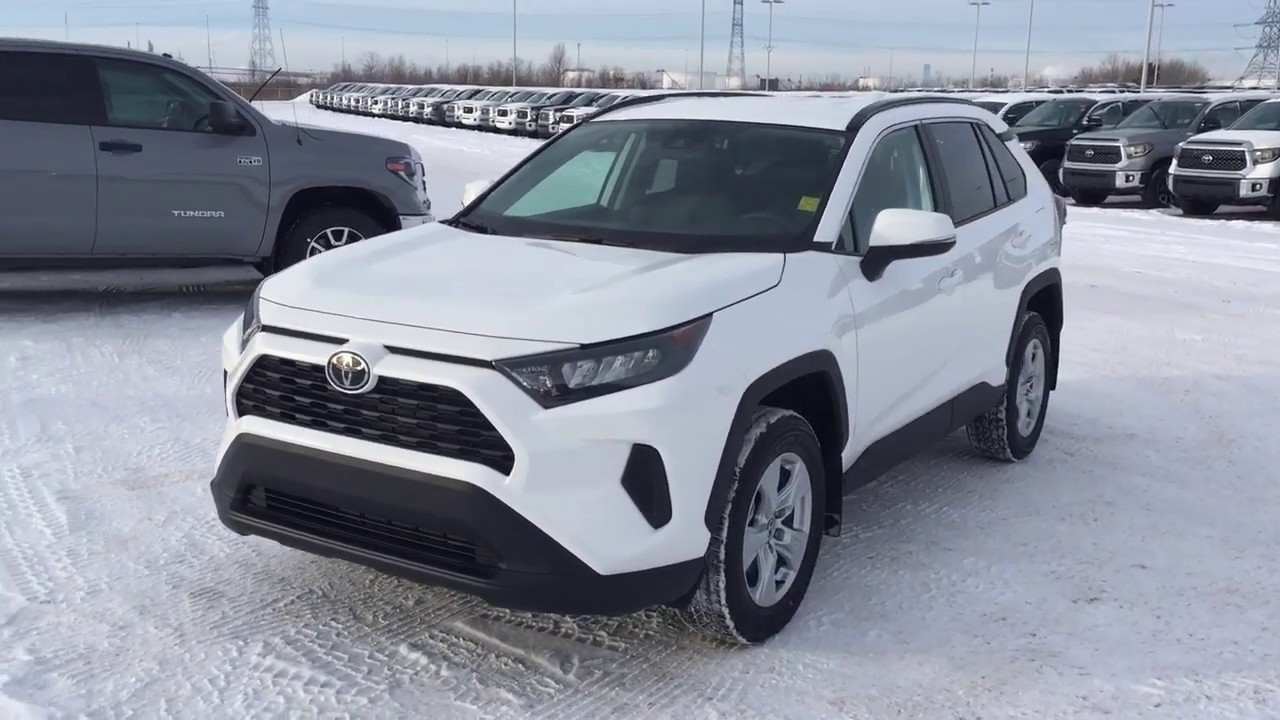 2019 Toyota Rav4 Le Awd Review You