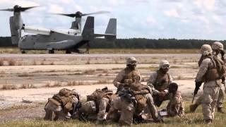 Marines and Sailors Combat Pre-Deployment Training