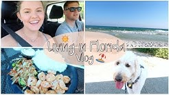 LIVING IN FLORIDA | Military Wife Vlog | Eglin AFB