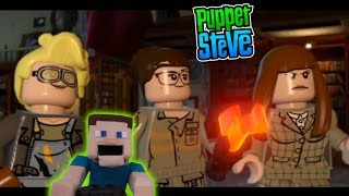 Ghostbusters Movie LEGO Dimensions Aldridge Mansion Level 1 Story Pack Letsplay commentary