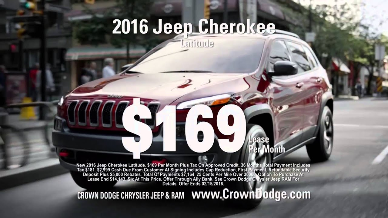 Crown Dodge Chrysler Jeep and Ram President s day sale