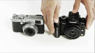 Fuji Finepix X100 or vs Panasonic Lumix GH2: compared, which one is better?