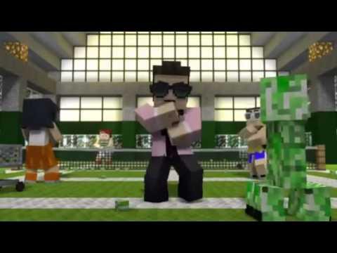 CaptainSparklez Minecraft Style Song.