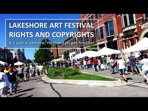 Photographer Rights and Copyrights - Lakeshore Art Festival | EP16