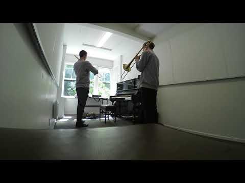 Jazz Trombone Slide Technique | Behind the Scenes Lessons | Nick Finzer's Trombone Tips