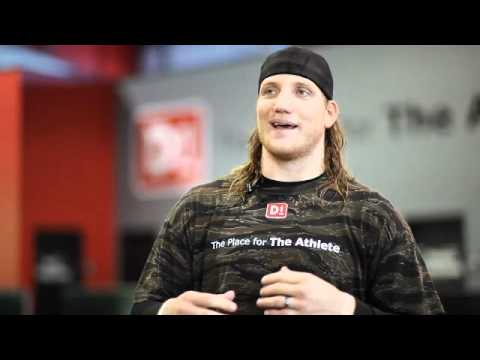 AJ Hawk Off-Season Power Training
