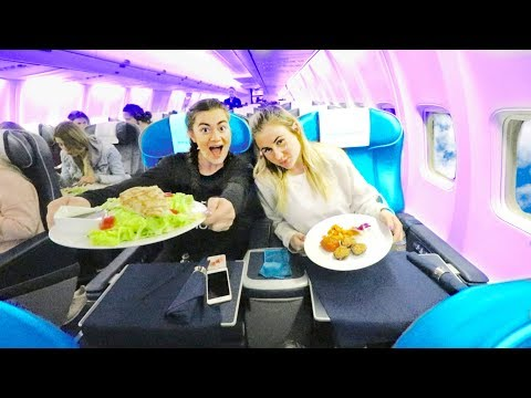 What Flying on a Private Jet is like. 60 hour Travel to BORA BORA!