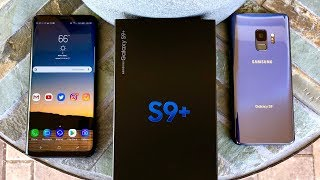 Galaxy S9 hands on