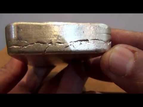 Swiss Bank Corporation One Kilo (Triple Marked) Silver Bar