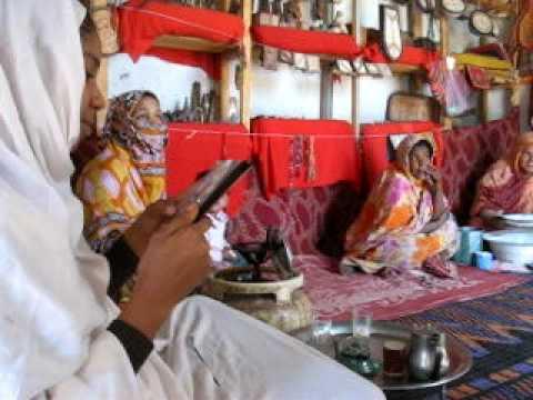 2009 Mauritanie Wadane, thé dans une coopérative de femmes, suite